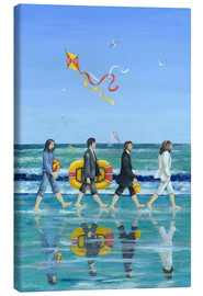 Lærredsbillede  Abbey Road Beach - Peter Adderley