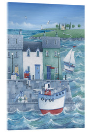 Akrylbillede  Harbour Gifts - Peter Adderley