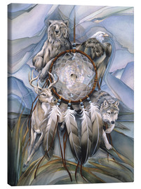 Lærredsbillede  Dream catcher - Jody Bergsma