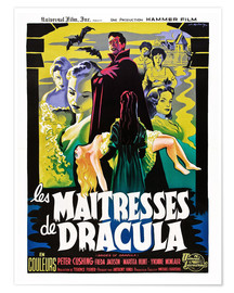 Premium-plakat  THE BRIDES OF DRACULA (LES MAITRESSES DE DRACULA), David Peel