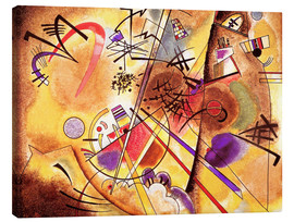 Lærredsbillede  Small dream in red - Wassily Kandinsky