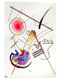 Akrylbillede  Watercolor from the Hess Guest Book - Wassily Kandinsky