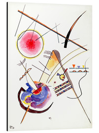 Print på aluminium  Watercolor from the Hess Guest Book - Wassily Kandinsky