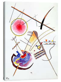 Lærredsbillede  Watercolor from the Hess Guest Book - Wassily Kandinsky