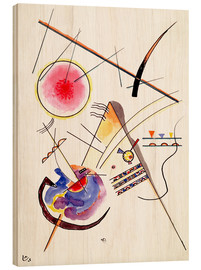 Print på træ  Watercolor from the Hess Guest Book - Wassily Kandinsky