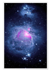 Premium-plakat  Orion Nebula M 42 and Running Man Nebula - MonarchC
