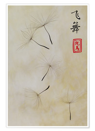 Premium-plakat Fei Wu - dancing in the wind