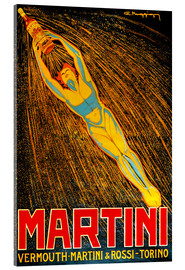 Akrylbillede  Martini - Advertising Collection
