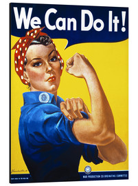 Print på aluminium  We can do it (english) - Advertising Collection