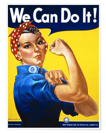 Premium-plakat  We can do it (english) - Advertising Collection