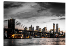 Akrylbillede  Brooklyn Bridge - Hannes Cmarits