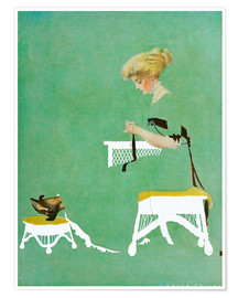 Premium-plakat  Home ties - Clarence Coles Phillips