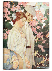 Lærredsbillede  Lovers - Jessie Willcox Smith