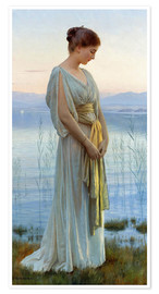Premium-plakat  Evening by the Lake - Max Nonnenbruch