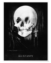 Premium-plakat  All is Vanity - Charles Allan Gilbert