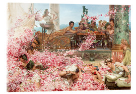 Akrylbillede  The Roses of Heliogabalus - Lawrence Alma-Tadema