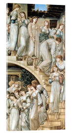 Akrylbillede  The Golden Stairs - Edward Burne-Jones