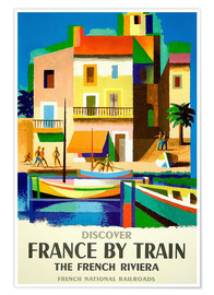 Premium-plakat France by Train