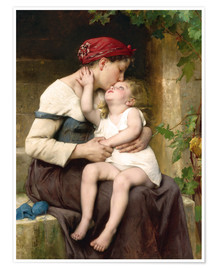Premium-plakat Mother and Child