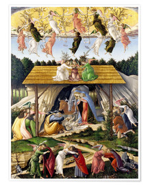 Premium-plakat  Mystical Birth - Sandro Botticelli