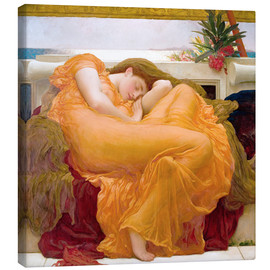 Lærredsbillede  Flaming June - Frederic Leighton