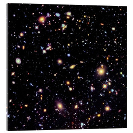Akrylbillede  Hubble Extreme Deep Field - NASA