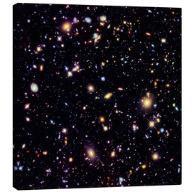 Lærredsbillede  Hubble Extreme Deep Field - NASA