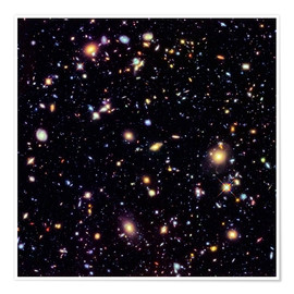 Premium-plakat  Hubble Extreme Deep Field - NASA