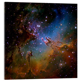 Akrylbillede  Eagle Nebula, optical image - Robert Gendler