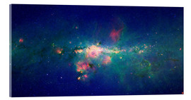 Akrylbillede  Milky Way (infrared image) - NASA