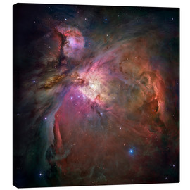 Lærredsbillede  Orion nebula (M42 and M43) - NASA