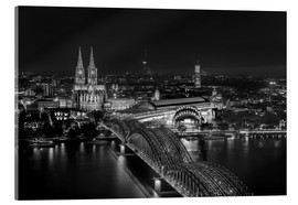 Akrylbillede  Cologne black and white - rclassen