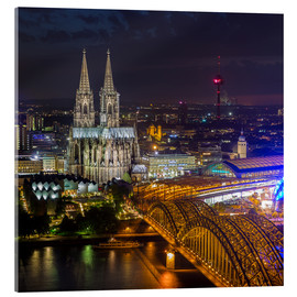 Akrylbillede  Cologne Cathedral - rclassen