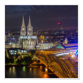 Premium-plakat Cologne Cathedral