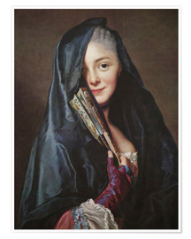 Premium-plakat The Lady with the Veil