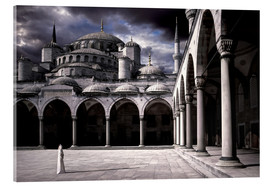Akrylbillede  Lady and the mosque - Daniel Murphy