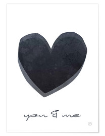 Premium-plakat  You & me - m.belle