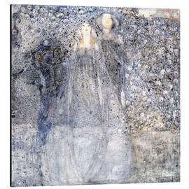 Print på aluminium  Silver Apples - Margaret MacDonald Mackintosh