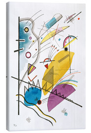 Lærredsbillede  Composition with Vertical Bar - Wassily Kandinsky