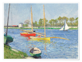 Premium-plakat The Seine at Argenteuil