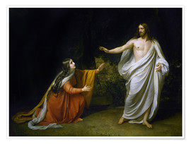 Premium-plakat Christ's Appearance to Mary Magdalene after the Resurrection