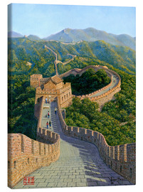 Lærredsbillede  Great Wall of China   Mutianyu Section 1 - Richard Harpum