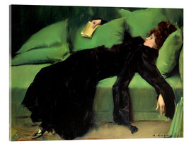 Akrylbillede  After the ball - Ramon Casas i Carbo