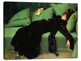 Lærredsbillede  After the ball - Ramon Casas i Carbo