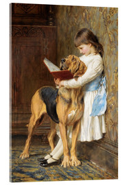 Akrylbillede  Compulsory education - Briton Riviere