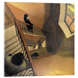 Akrylbillede  The Staircase - Leonid Terentievich Chupiatov