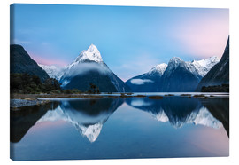 Lærredsbillede  Milford Sound, New Zealand - Matteo Colombo
