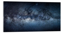 Akrylbillede  Milky Way Panorama - Jan Christopher Becke