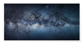 Premium-plakat Milky Way Panorama