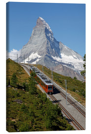 Lærredsbillede  Excursion to the Matterhorn - Hans-Peter Merten